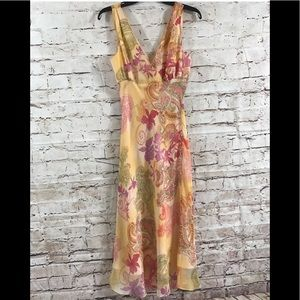 Max And Cleo Yellow Floral Maxi Dress